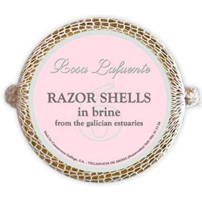 Razor shells in brine from the galician estuaries 6