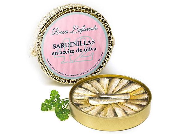Sardinas (sardinillas) en aceite de oliva